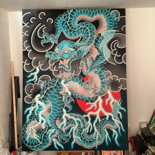 Dragon_Oilpainting